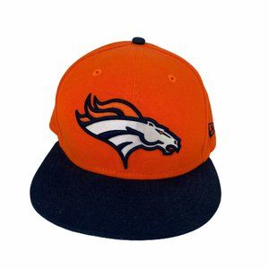 New Era Orange Denver Broncos 59Fifty 7 1/8 Hat